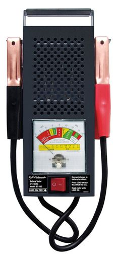 Battery Testers: Schumacher Bt-100 100 Amp Battery Load Tester -> BUY IT NOW ONLY: $32.51 on eBay!