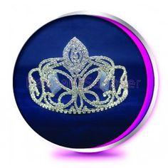 The Loriann - Pageant Crown or Wedding Princess Tiara (Homecoming, Prom, Bridesmaid, Birthdays, Bachlorette, etc)