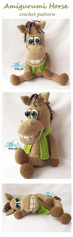 Pferd häkeln                                                       …