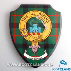 Kincaid Clan Crest Wall Plaque
