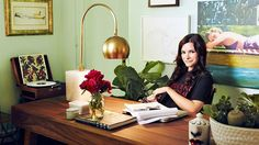 Kelly Oxford's office