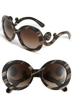 Prada Baroque Sunglasses...so unique!