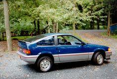 1985 Honda CRX (Pocket Rocket) manual 5 speed - first new car I bought.  Fun to drive.