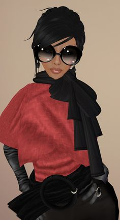 gloves a bow tie scarf and some truly eccentric jewelry and sunglasses. I feel like making a statement today!!!!!