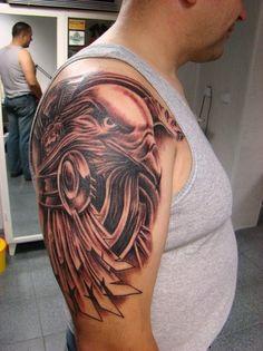 Animal Tattoos: Black Eagle Designs Tattoo Ideas, justin bieber tatoo, eagle feather tattoo, german eagle tattoo ~ Podanza