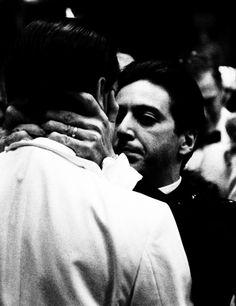 John Cazale & Al Pacino in The Godfather