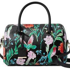 Kate Spade New York Women's Large Lane Satchel >>> Continue to the product at the image link. (This is an affiliate link) Kate Spade Cameron Street, Leather Satchel Handbags, Fashion Handbags, Large Black, Shoulder Strap, Tote Bag, Satchel Backpack, Purses, York