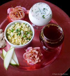 A Peek into My Kitchen: Neer mor, Panagam and Vada Paruppu (Sri Rama Navami Recipes) ~ Day 92