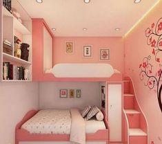 Kids Bedroom Designs, Cute Bedroom Ideas, Room Design Bedroom, Room Ideas Bedroom, Home Room Design, Kids Room Design, Awesome Bedrooms, Cool Rooms, Bedroom Decor For Kids