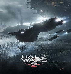 Cinematic concept art for the trailer for the upcoming HALO WARS Cartoon Video Games, Video Game Characters, Space Battles, Futuristic Technology, Game Logo, Look Cool, Blur, Master Chief, Game Art