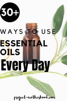 30+ ways to use #essentialoils in your every day life - it's much easier than you think!