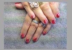 Zelf Nail Art zetten met foto voorbeelden #4Stap voor stap vertel ik je hoe jij deze Nail -Art kan zetten bij jezelf. #Nailart #Nagels #Nails #DIY