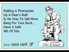 Have a safe and SANE 4th.