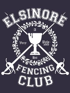 Elsinore Fencing Club - Hamlet by MerchHare