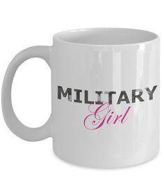 Military Girl - 11oz Mug