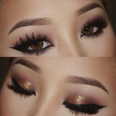 """Eotd. Makeup deets: - Maybelline Gel Liner Brown (brows) - @loraccosmetics Pro Palette - @stilacosmetics Magnificent Metal EyesComed Copper - @lagirlcosmetics Glide Gel Liner Black - @lacolorscosmetics Grafix Eyeliner Black - @ardell_lashes Double Up 203 - @toofaced Better Than Sex Mascara -Contacts: Bella Eves Brown Get your contacts from @luminouslens and use the code """"PANG"""" to get 5% off on your entire purchase! #eotd #toofacedcosmetics #ardelllashes #doubleup #lacolor #lagirlcosmetics…"""