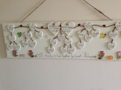 My family tree Memory Wall, Rustic, Holiday Decor, Ideas, Rustic Feel, Retro, Farmhouse Style, Primitives, Thoughts