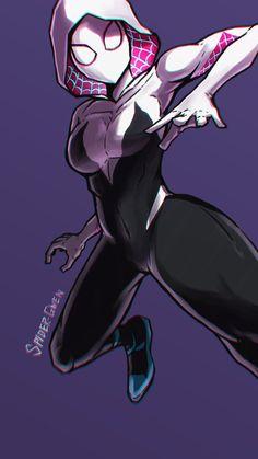 Marvel Venom, Marvel Art, Marvel Heroes, Marvel Avengers, Spider Art, Spider Verse, Marvel Spider Gwen, Character Art, Character Design