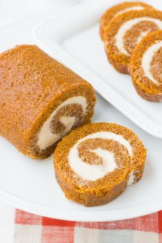 Perfect Gluten-Free Pumpkin Roll {Grain-Free, Dairy-Free Option}   Meaningful Eats (am totally gonna try this!!)