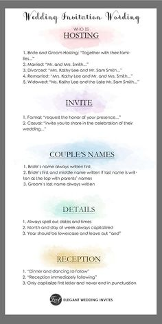 Use This Wedding Décor Checklist to Help You Nail Every Detail ...