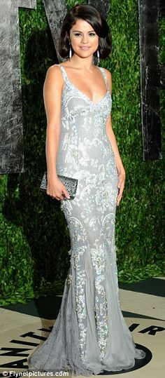 Selena Gomez at The Elton John Oscars Viewing Party