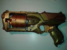 Steampunk gun - nerf