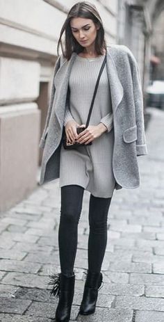 gray on gray – Fashion Agony | Daily outfits, fashion trends and inspiration | Fashion blog by Nika Huk, Ukraine #gray