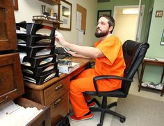 Attorney suits up in jailhouse orange for Lent - WacoTrib.com: Religion