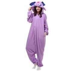 08781a1d3f Aliexpress.com   Buy Anime Cartoon Adult Pocket Monster Purple Umbreon  Onesie Cosplay Costume Winter Warm Unisex Pajamas Sleepwear from Reliable  cosplay ...
