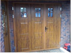 1000 Ideas About Side Hinged Garage Doors On Pinterest