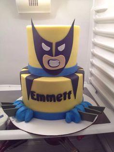 wolverinec cake   Wolverine cake, almost like Evrett