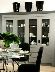 FORMAL DINING ROOM WITH DISPLAY CABINET