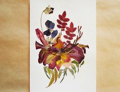 Floral Collage<br />Anastasia Kovaleva