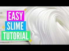 How to Make 3 Different Slimes! Bubbly Slime, Fluffy Slime, Bubblegum Slime! | SarahChoxo - YouTube