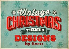 #vintage #christmas #retro #vintage_designs