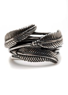 Carpe Diem 925 Sterling Silver Feather Ring Rings Wedding Engagement Band Jewelry Jewellery CDR-201 on Etsy, $100.00
