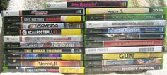 Xbox Video Game Collection Wholesale Lot of 21