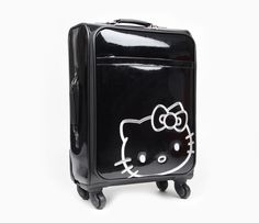 Hello Kitty Travel Chic Rolling Travel Suit Case Small – Afryl's Accessories