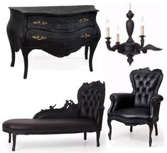 I found 'Modern Gothic Furniture Set' on Wish, check it out!