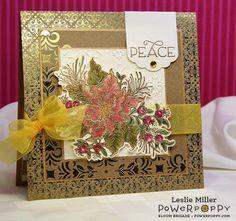 Poinsettia Stamp Set