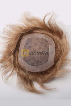 This is a very quality hair replacement toupee for men with a transparent fine poly coated all around and a mono base