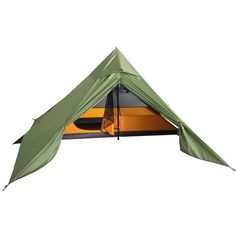 The Luxe Mini Peak II is really fast to pitch, with room for 1 - 2 people or 1 + gear. This ultra-light and spacious pyramid style tent has excellent ventilation and stability. Backpacking Tent, Hiking Gear, Tent Camping, Camping Gear, Outdoor Camping, Outdoor Gear, Camping Equipment, Hammock Tarp, Teepee Tent