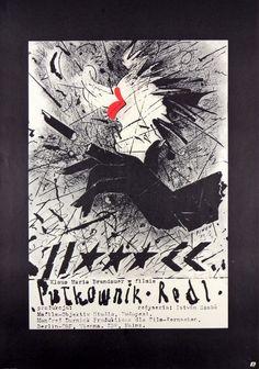 Colonel Redl Pulkownik Redl Piwonski Andrzej (Piwon) Polish Poster