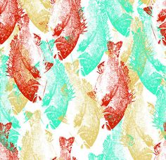 camouflage pattern for PRPS based on Gyotaku fish printing