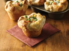 Chicken Pot Pie tastes even better when it's all yours. These easy, 30-minute individual pies will steal the show! Sponsored by @Walmart.