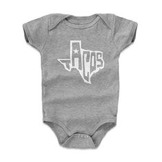 500 Level Tacos Infant & Baby Onesie Romper 6-12M Heather Gray - Texas Tacos Wht - Food & Texas Themed Apparel & Merchandise