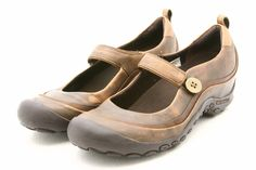 Merrell Plaza Emme Maryjane MJ Mary Janes Shoes Womens 9 Leather Walking Clogs