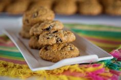 Applesauce Raisin Oatmeal Cookies - Most requested Cookie! Get off your butt and Bake Easy Waffle Recipe, Waffle Recipes, Cookie Recipes, Applesauce Cookies, Oatmeal Raisin Cookies, Apple Oatmeal, Biscuits, Waffle Ice Cream, Leftover Chicken Recipes