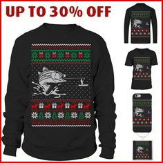 Fishing ugly X-mas sweater. Christmas gifts for fishing lovers Ugly Xmas Sweater, Christmas Sweaters, Christmas Gifts, Fishing World, Being Ugly, Fisher, Lovers, T Shirt, Fashion