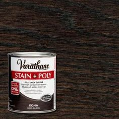 Varathane 1-qt. Kona Stain and Polyurethane (Case of 2) 266153 at The Home Depot - Mobile